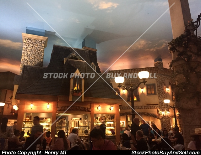 Stock photo - Paris Le Village Buffet Las Vegas
