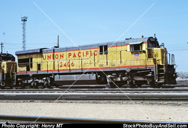 Union Pacific Railroad Train