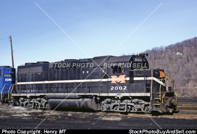 Monongahela Railway Train