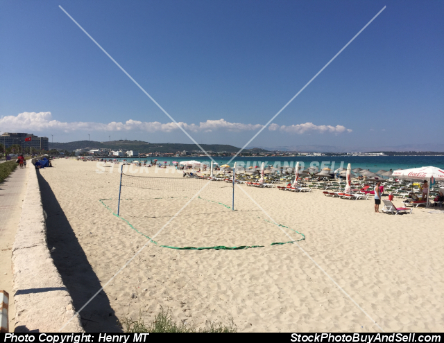 Stock photo - Ilica Beach Cesme Turkey