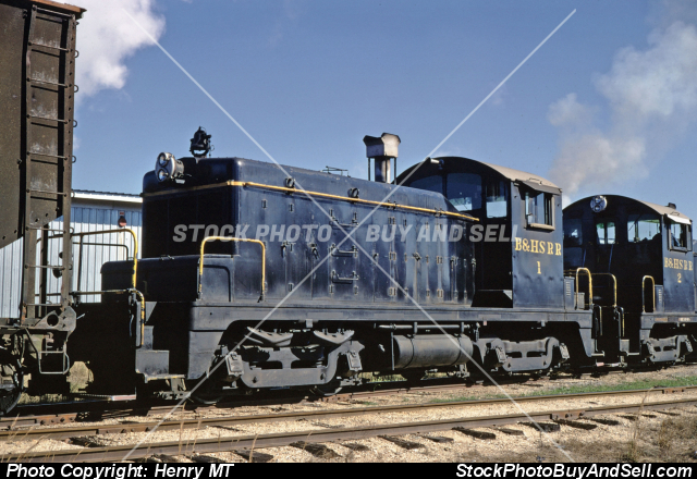 Bonhomie & Hattiesburg Southern Railway Train