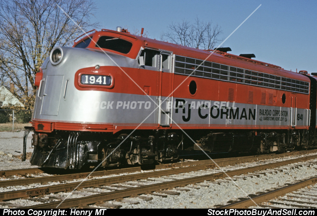RJ Corman Railroad Train
