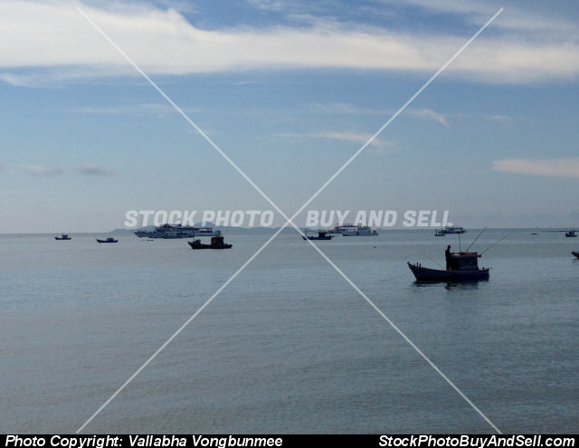 Stock photo - fishing boat