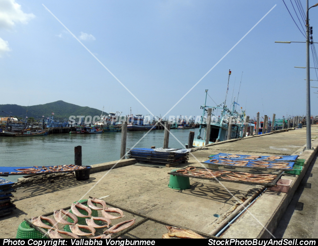 Stock photo - Fishing port