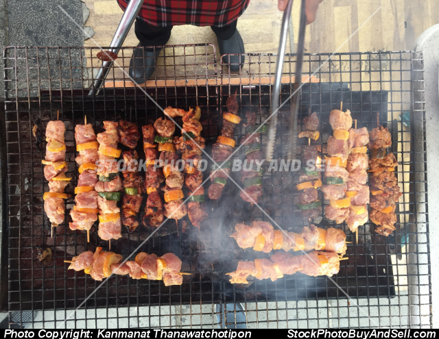 Stock photo - barbeque