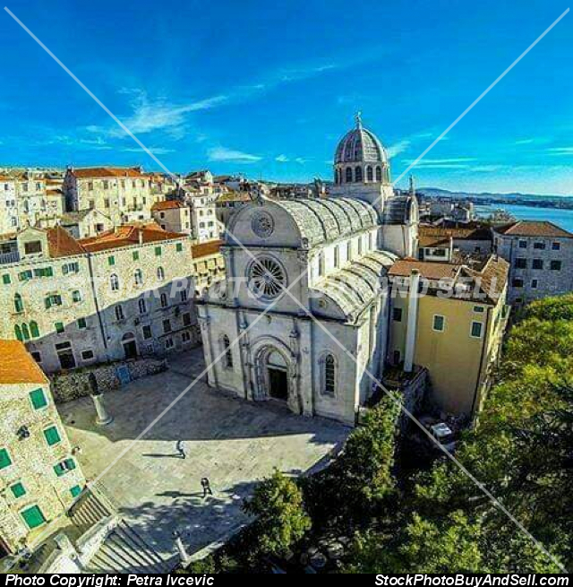 Stock photo - Šibenik chathedral st.Jakov