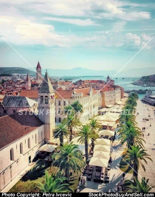Stock photo - Trogir city from Croatia