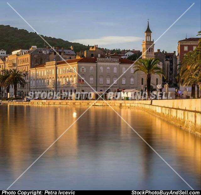 Stock photo - Split city from croatia