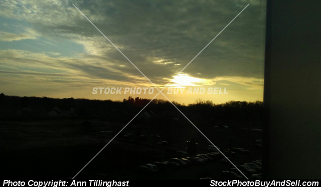 Stock photo - Sunset