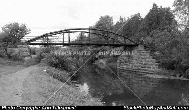 Stock photo - B&W Bridge